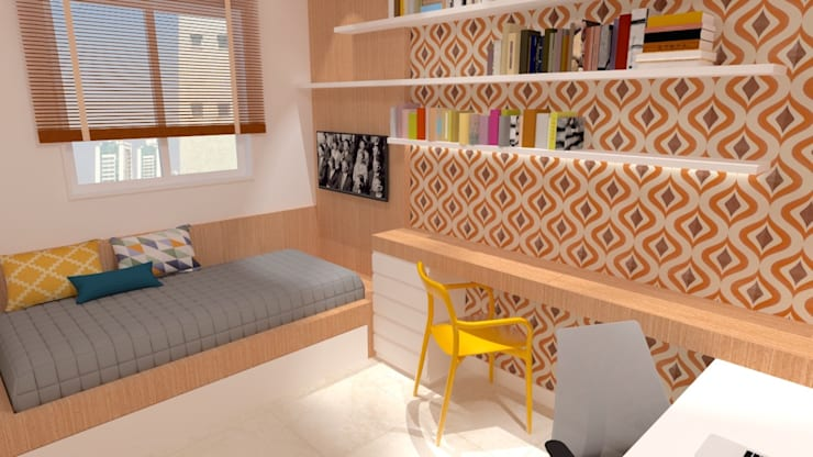 Bedroom by Arquitetura do Brasil,