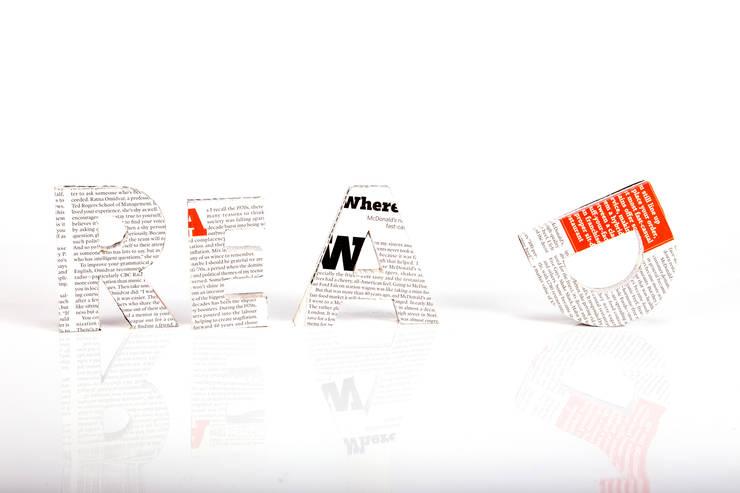 Objetos para el hogar de diseño: Hogar de estilo  por Amo La Vaca