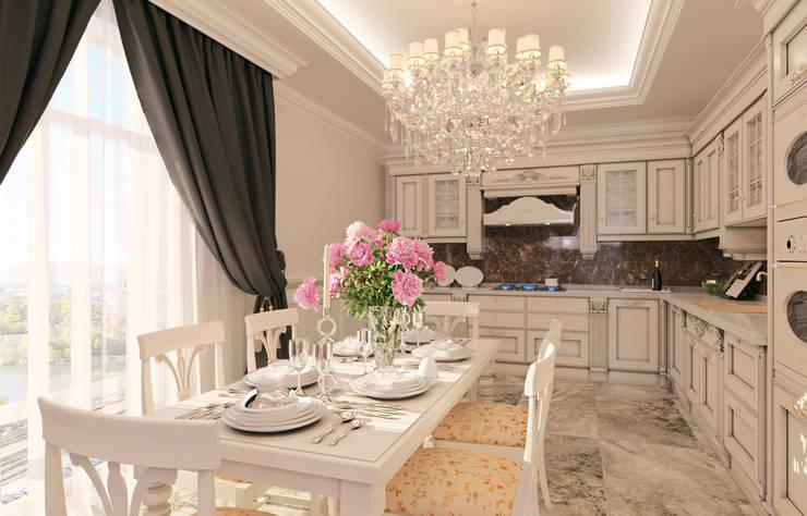 Projekty,  Kuchnia zaprojektowane przez Ivantsov design studio