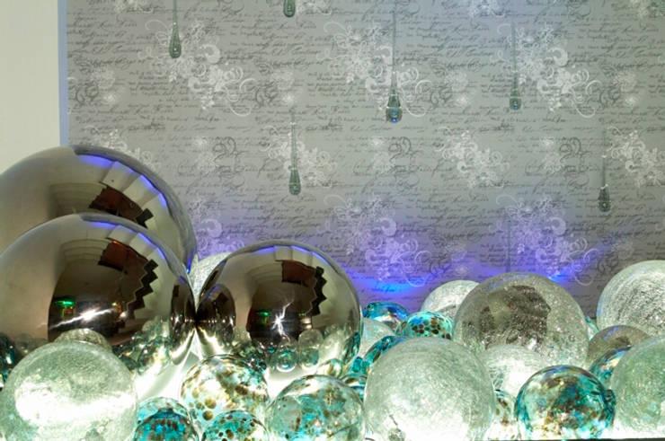 detalles: Pasillos y recibidores de estilo  por arketipo-taller de arquitectura