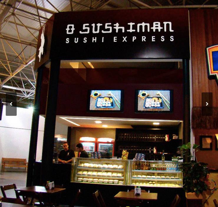 Restaurante O Sushiman - Gilberto Salomão: Espaços gastronômicos  por Arquitetura do Brasil