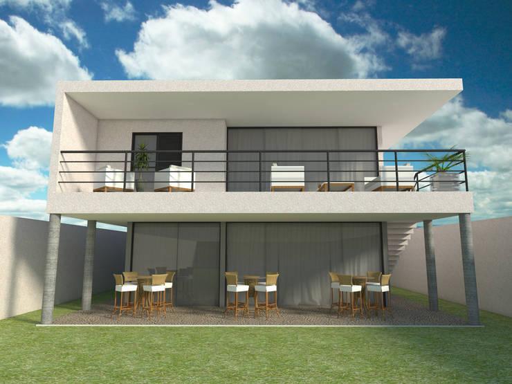 Casa - Vicente Pires/DF: Casas  por Arquitetura do Brasil,
