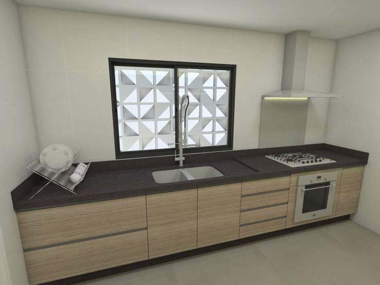 Casa – Vicente Pires/DF: Cozinhas  por Arquitetura do Brasil,