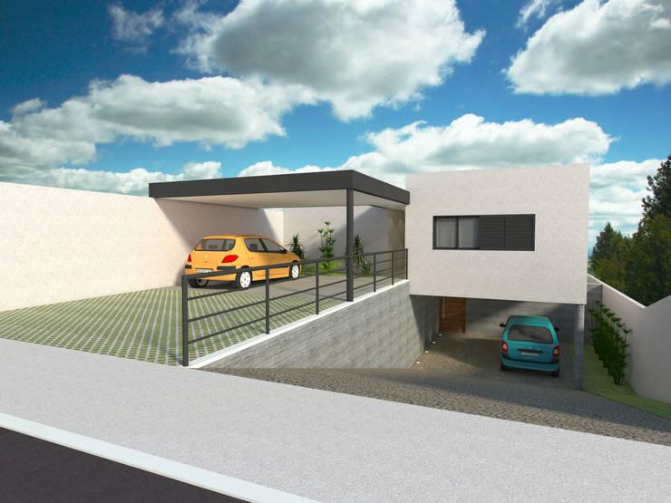 Casa - Vicente Pires/DF: Casas  por Arquitetura do Brasil