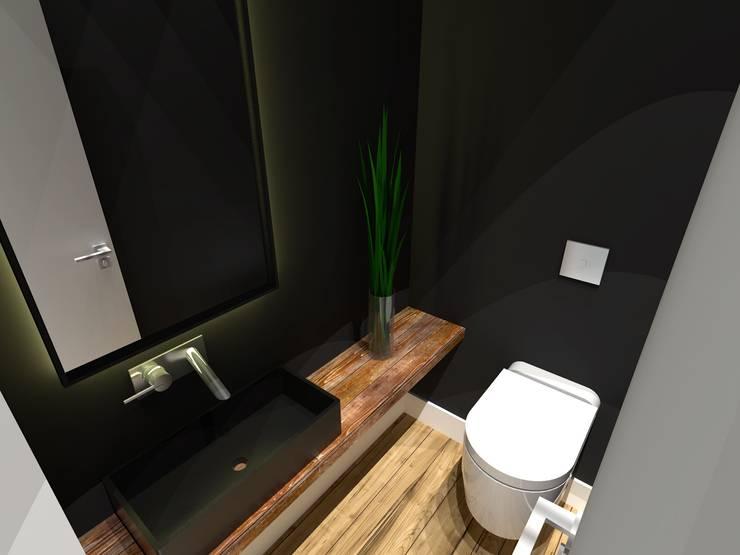 Apartamento - AOS 06 - Octogonal - Brasília/DF: Banheiros  por Arquitetura do Brasil