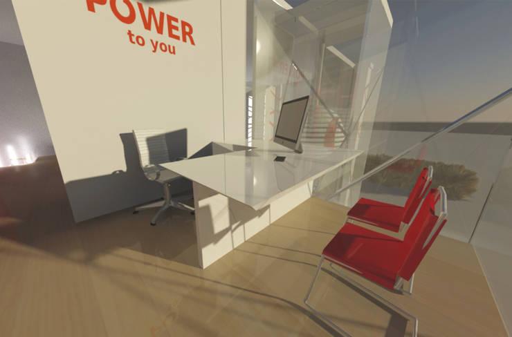Oficina del Gerente.:  de estilo  por Cesar Rodriguez Perfetti