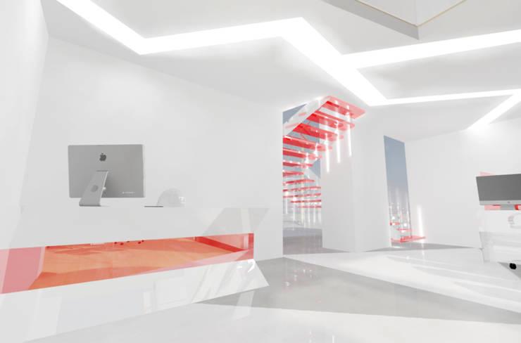 Area de atencion al cliente.:  de estilo  por Cesar Rodriguez Perfetti