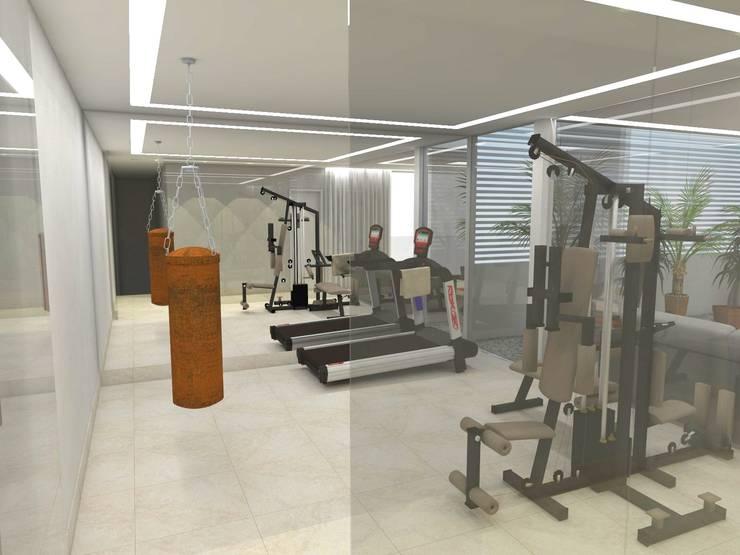 Casa - Sobradinho/DF: Fitness  por Arquitetura do Brasil,Moderno