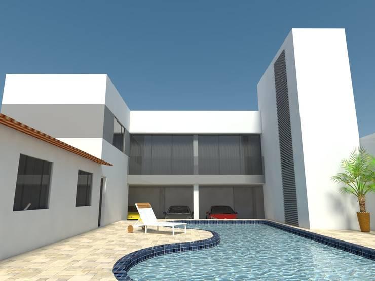 Casa - Sobradinho/DF: Casas  por Arquitetura do Brasil,Moderno