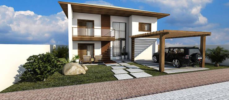 Casas de estilo  por Arquitetura do Brasil