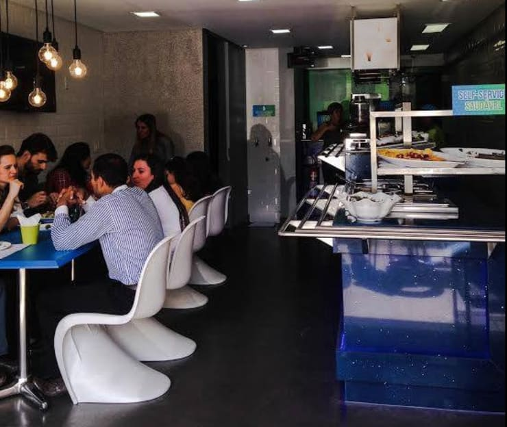 Restaurante Limonada - Águas Claras/DF: Espaços gastronômicos  por Arquitetura do Brasil