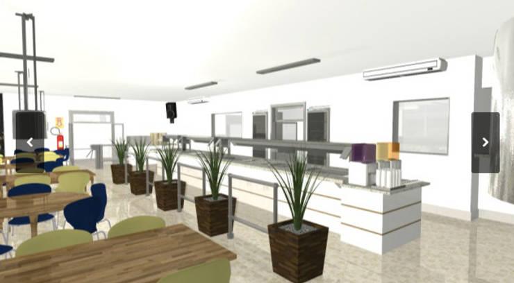 ร้านอาหาร โดย Arquitetura do Brasil, โมเดิร์น