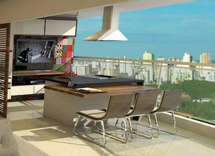 ANTES e DEPOIS - Apartamento Sky - Salvador/BA:   por Arquitetura do Brasil