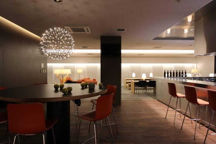シェアリーフ西船橋グレイスノート(千葉): 株式会社ライティングMが手掛けたキッチンです。