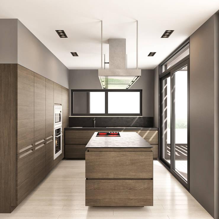 fatih beserek – İç mekan tasarım ve Görselleştirme:  tarz Mutfak