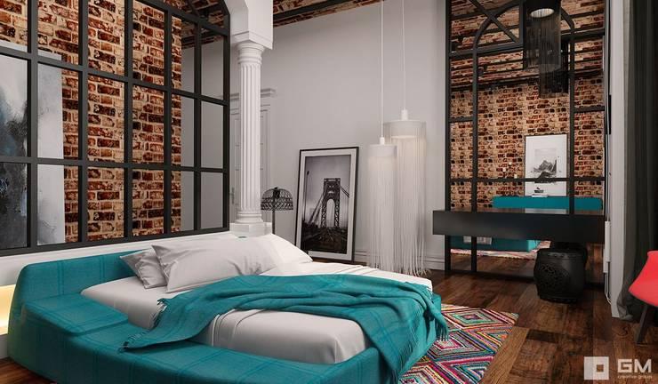 Projekty,  Sypialnia zaprojektowane przez GM-interior