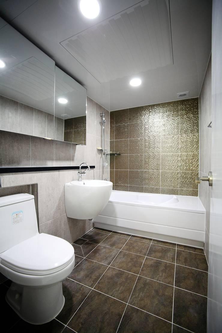 서울 강남구 압구정동 미성아파트 2차: B&G 인테리어의  욕실