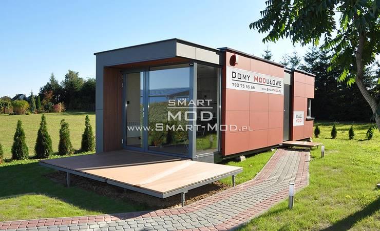 Wysoka jakość wypoczynku - Domy modułowe SmartMod: styl , w kategorii Domy zaprojektowany przez Smart Mod,Nowoczesny