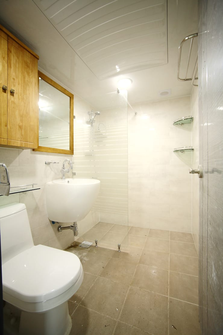 인천 서구 심곡동 삼성아파트: B&G 인테리어의  욕실