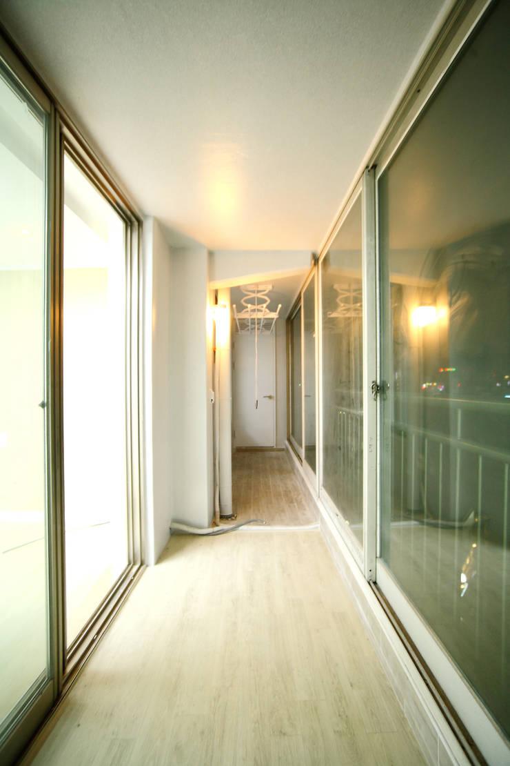 인천 서구 심곡동 삼성아파트: B&G 인테리어의  다이닝 룸
