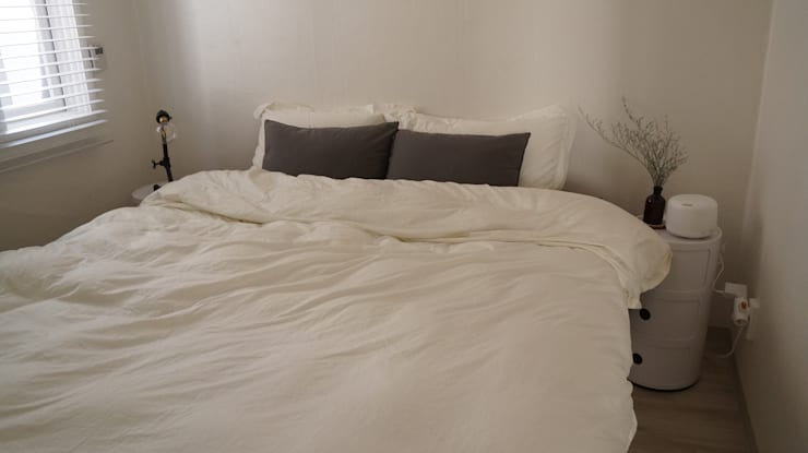 Dormitorios de estilo escandinavo de toki