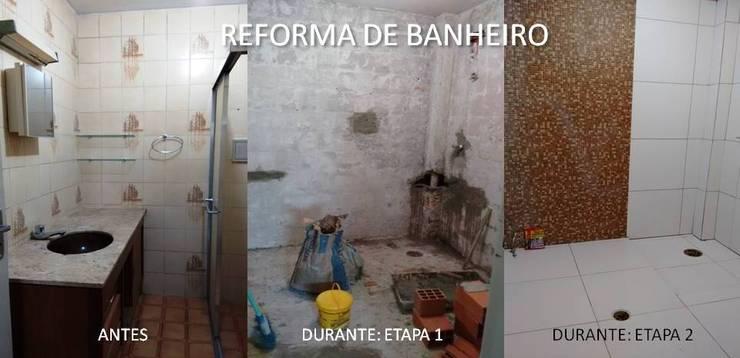 Etapas da reforma:   por Lúcia Vale Interiores,