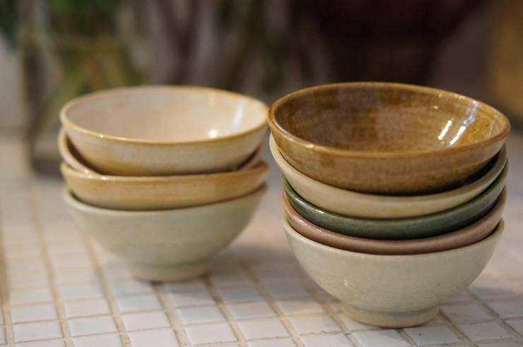 自慢のめし椀: 月下陶房が手掛けたキッチンです。