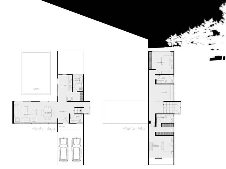 Proyectos y Espacios:  de estilo  por Grupo Pi Victtus
