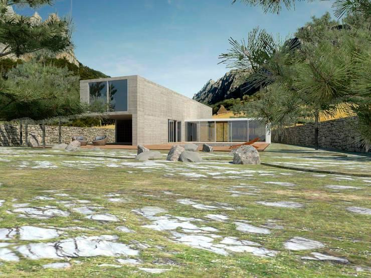 Proyectos y Espacios: Casas de estilo  por Grupo Pi Victtus