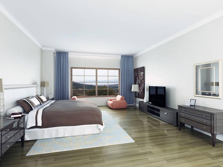 CCT INVESTMENTS – CCT 175 Villa Project in Yalova:  tarz Yatak Odası