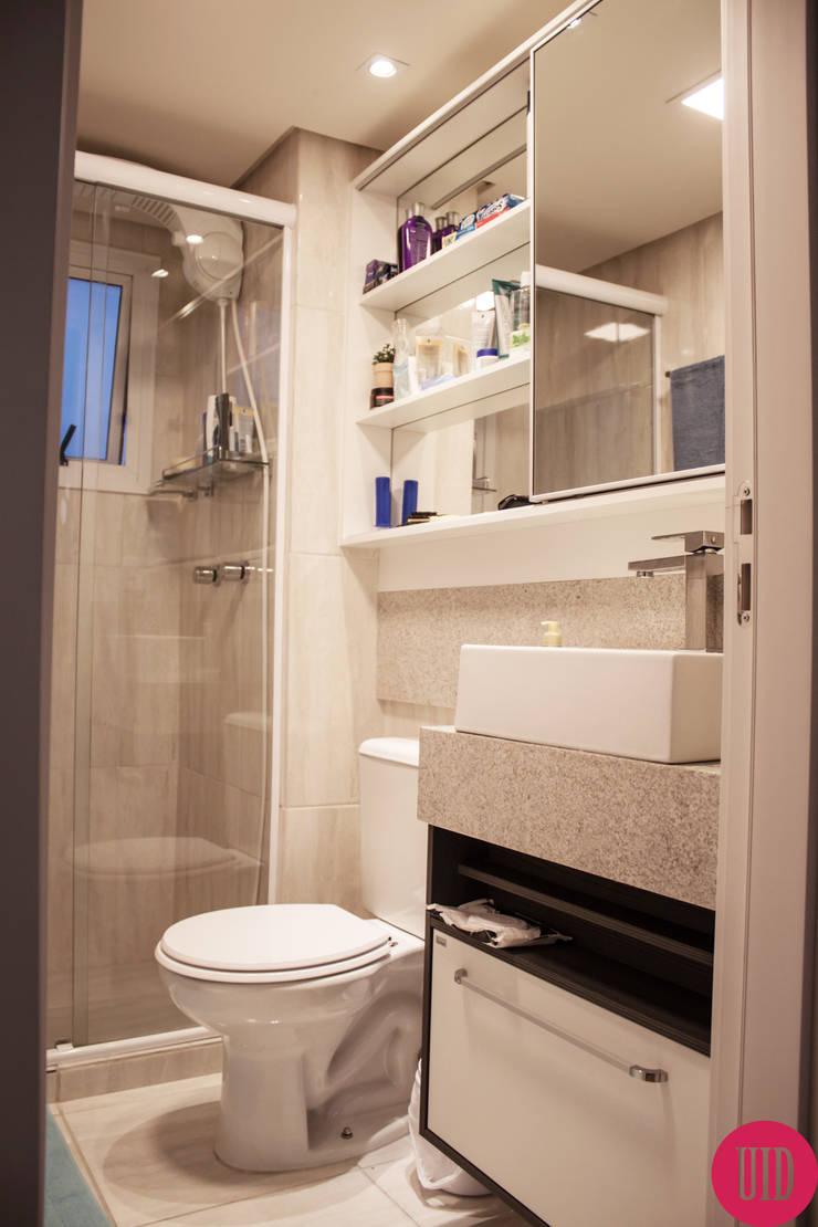 Apartamento jovem: Banheiro  por USINA INTERIOR DESIGN