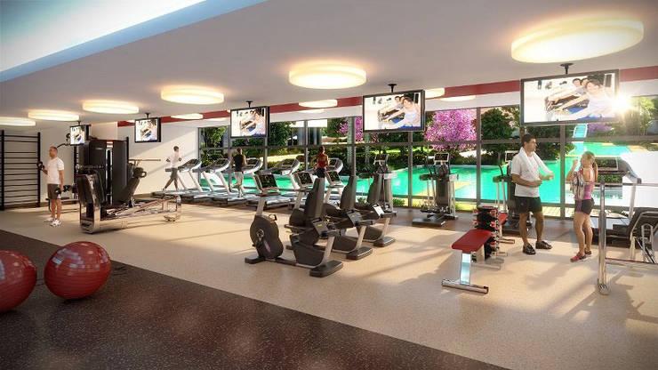 CCT INVESTMENTS – CCT 162 PROJECT NEW LAUNCHING PROJECT IN BEYLIKDUZU: modern tarz Fitness Odası
