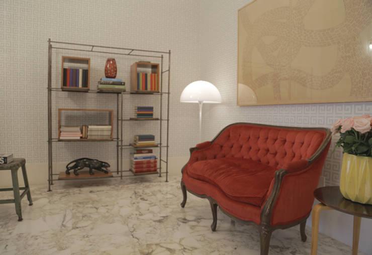 ห้องนั่งเล่น โดย Casa de Valentina,