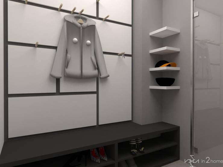 Hol: styl , w kategorii Korytarz, przedpokój zaprojektowany przez in2home