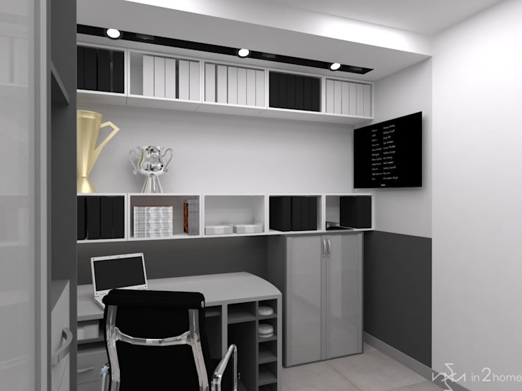 Oficinas de estilo  por in2home