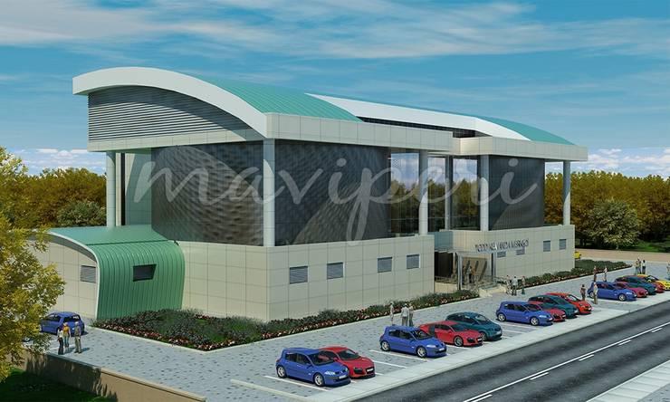 Afyon Kumanda Merkezi:   by Maviperi Mimarlık
