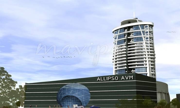 Allipso Konut ve AVM:   by Maviperi Mimarlık