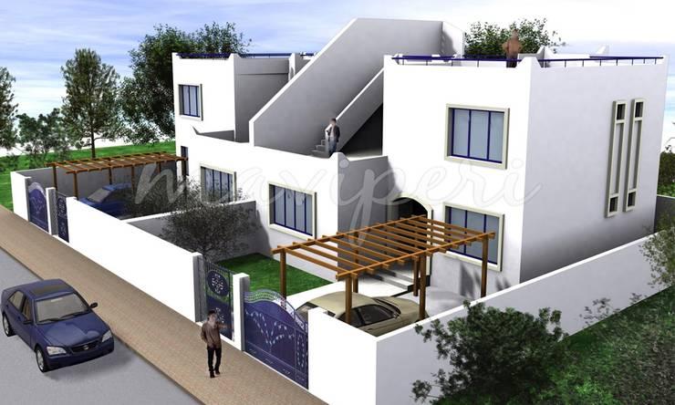 Bodrum Konutları:  Houses by Maviperi Mimarlık