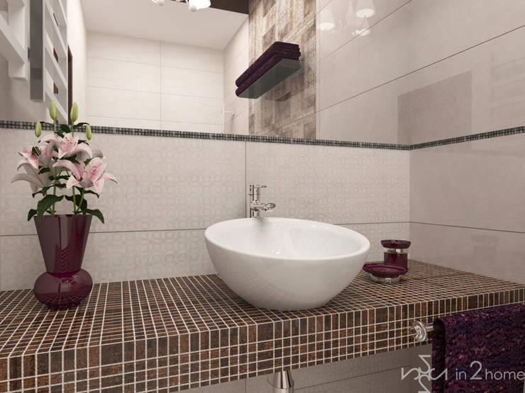 Łazienka: styl , w kategorii Łazienka zaprojektowany przez in2home