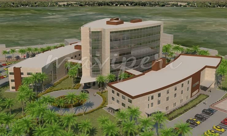 Samsun Terme 75 Yataklı Devlet Hastanesi:   by Maviperi Mimarlık