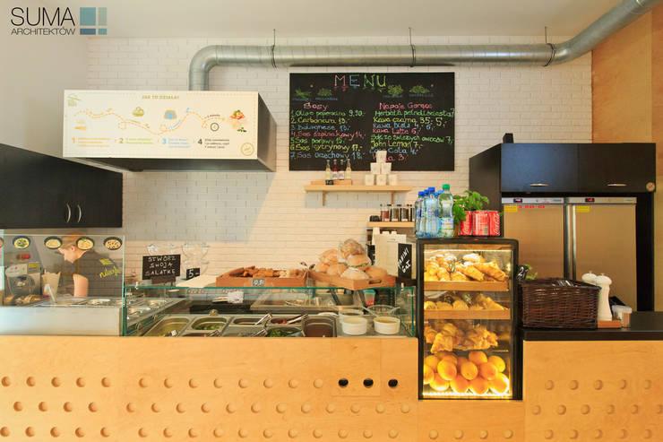 PASTA MASTA #1: styl , w kategorii Gastronomia zaprojektowany przez SUMA Architektów