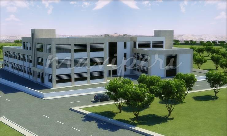 Şanlıurfa Ağız ve Diş Sağlığı Merkezi:   by Maviperi Mimarlık