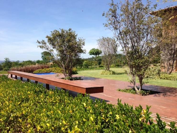 Casa LD: Jardins  por Marcia Joly Paisagismo