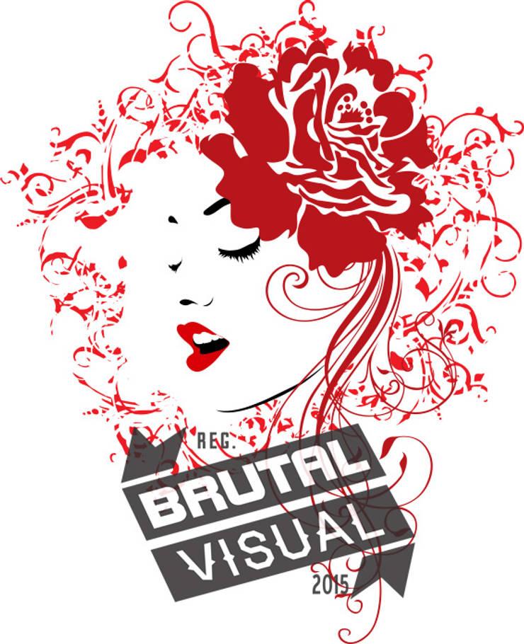 Mulher de vermelho: Arte  por BrutalVisual