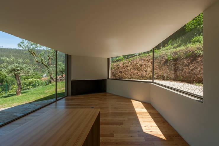 Projekty,  Salon zaprojektowane przez ABPROJECTOS
