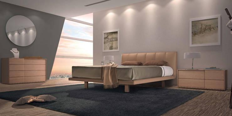 Mobiliário de quarto Bedroom furniture www.intense-mobiliario.com  Guru http://intense-mobiliario.com/product.php?id_product=3208: Quarto  por Intense mobiliário e interiores;