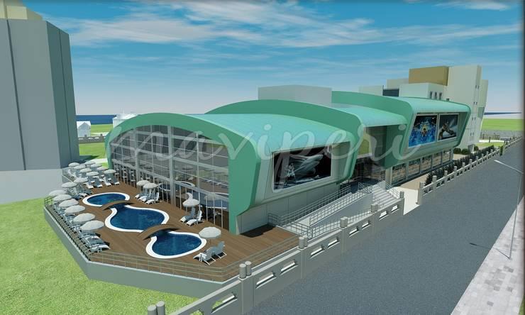 İskenderun İkem Koleji Spor Kompleksi:   by Maviperi Mimarlık
