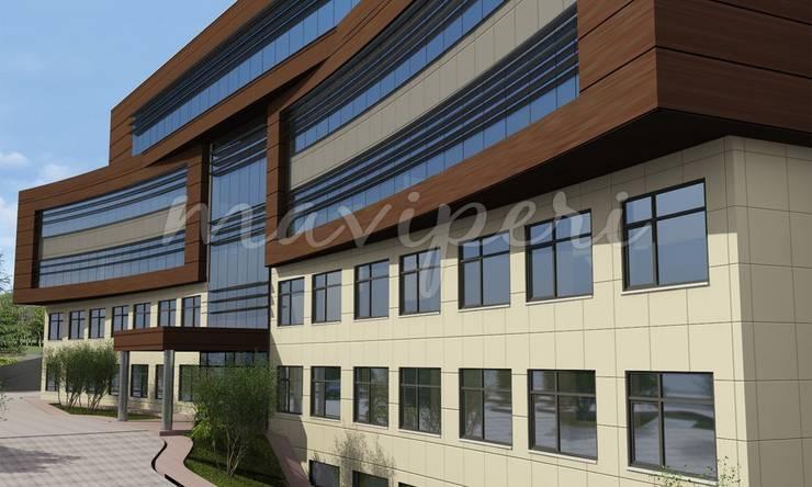 Bülent Ecevit Üniversitesi Diş Hekimliği Fakülte Binası:   by Maviperi Mimarlık