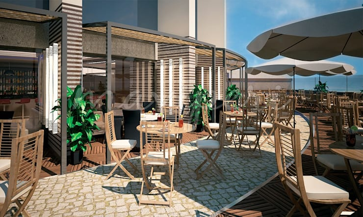 Al Kendi Restaurant:   by Maviperi Mimarlık