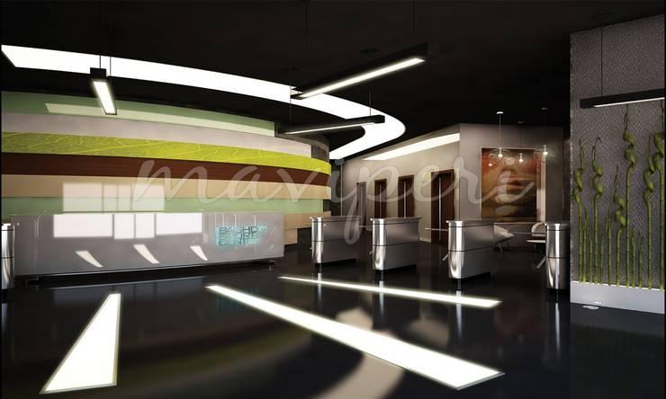 Al Kendi Spor Merkezi:   by Maviperi Mimarlık